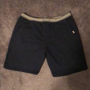 Men's Vans LRG blue cotton shorts